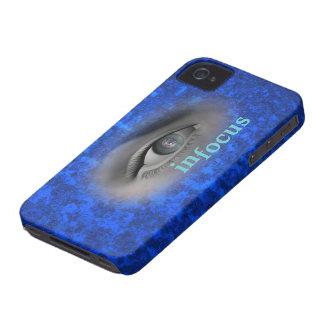 mi-mundo-vista iPhone 4 Case-Mate carcasa