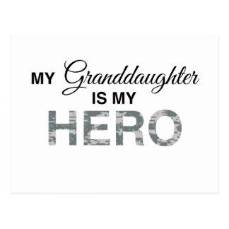 Mi nieta es mi camuflaje de Digitaces del héroe Postal