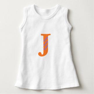 Mi nombre comienza con J y tengo gusto de las Vestido
