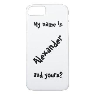mi nombre es funda iPhone 7