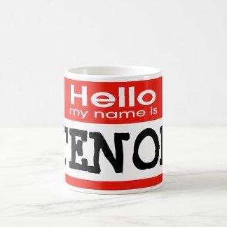Mi nombre es TENOR Taza De Café