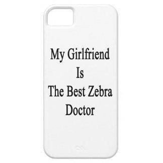 Mi novia es el mejor doctor de la cebra iPhone 5 cárcasas
