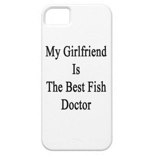 Mi novia es el mejor doctor de pescados iPhone 5 Case-Mate fundas
