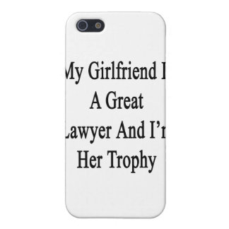 Mi novia es gran abogado y soy su trofeo iPhone 5 protector