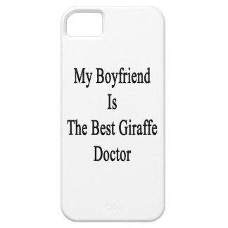 Mi novio es el mejor doctor de la jirafa iPhone 5 cárcasas