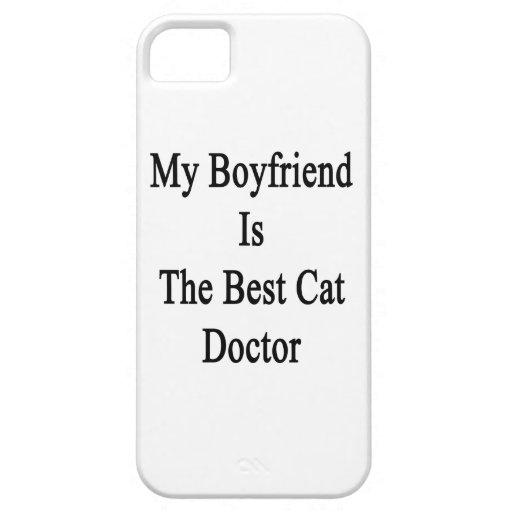 Mi novio es el mejor doctor del gato iPhone 5 Case-Mate cárcasas