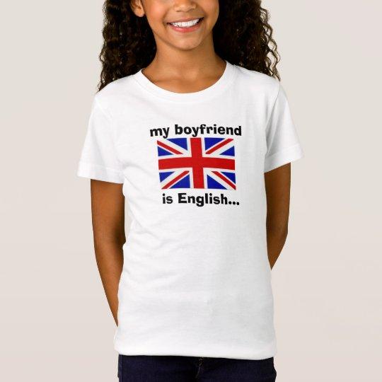 mi novio es inglés… camiseta