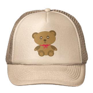 Mi oso de peluche gorro