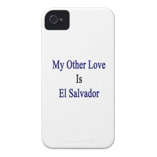 Mi otro amor es El Salvador iPhone 4 Case-Mate Cárcasas