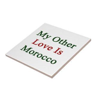 Mi otro amor es Marruecos Azulejos Ceramicos