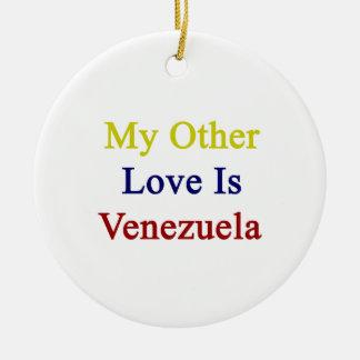 Mi otro amor es Venezuela Ornamentos De Reyes Magos