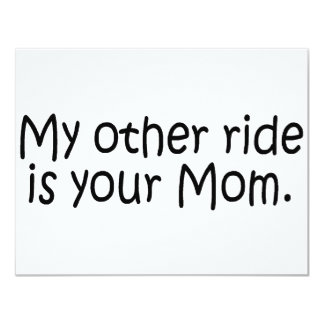 Mi otro paseo es su mamá invitacion personal