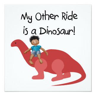 Mi otro paseo es un dinosaurio AA Comunicados Personalizados