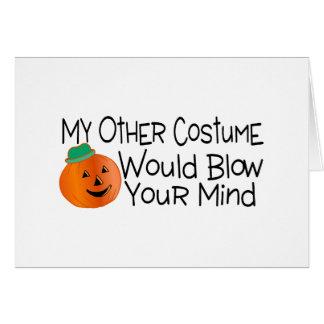 Mi otro traje soplaría su mente tarjetón