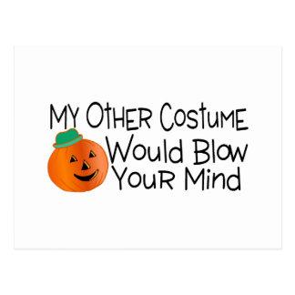Mi otro traje soplaría su mente postal