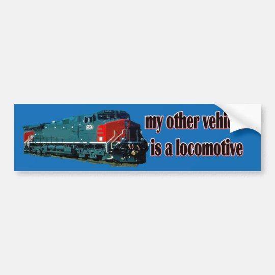 Mi otro vehículo es un SP de la locomotora Pegatina Para Coche