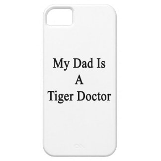 Mi papá es doctor del tigre iPhone 5 carcasa
