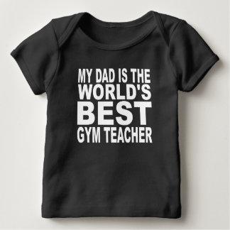Mi papá es el mejor profesor del gimnasio del camisetas