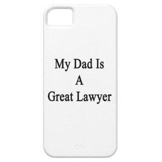 Mi papá es gran abogado iPhone 5 Case-Mate cárcasa