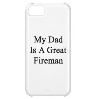 Mi papá es gran bombero