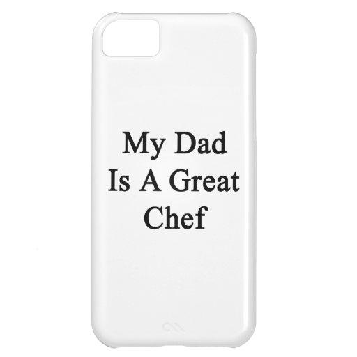 Mi papá es gran cocinero