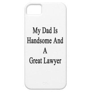 Mi papá es hermoso y gran abogado iPhone 5 Case-Mate fundas