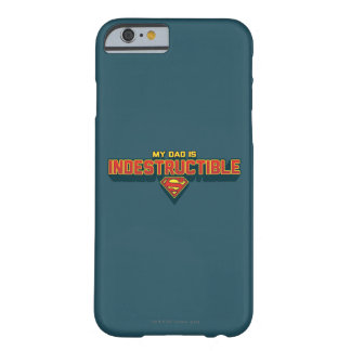 Mi papá es indestructible funda para iPhone 6 barely there