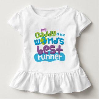 Mi papá es la mejor camiseta del corredor de los