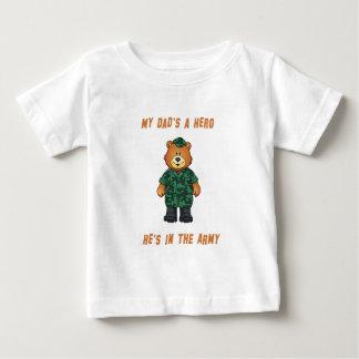 Mi papá es una camisa del niño del héroe