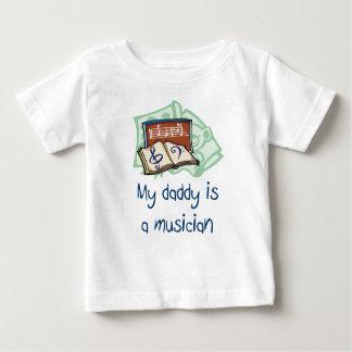 Mi papá es una camiseta del niño del músico