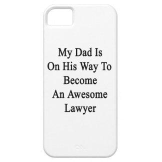 Mi papá está en su manera de hacer abogado iPhone 5 Case-Mate funda