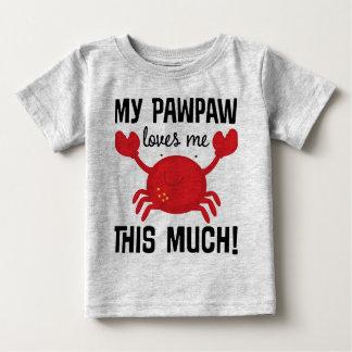 Mi papaya me ama esta mucha camiseta del nieto