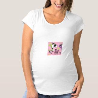 Mi pequeña camisa de la maternidad del pitón