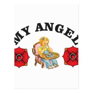 mi pequeño ángel postal