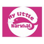 Mi pequeño Narwhal Postales