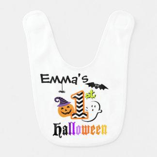 Mi primer BABERO de Halloween para el bebé o la