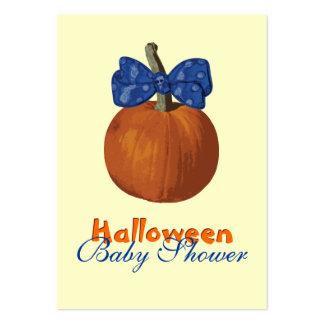 Mi primer Halloween Tarjetas De Visita Grandes