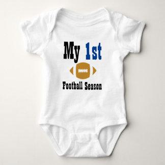Mi primer mono del bebé de la estación de fútbol body para bebé