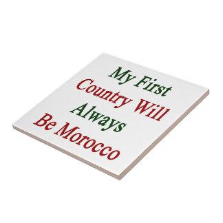 Mi primer país será siempre Marruecos