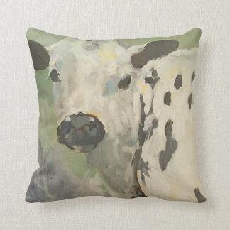 Mi propia almohada de la vaca del bebé de la