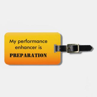 Mi reforzador del funcionamiento es preparación etiqueta para maletas