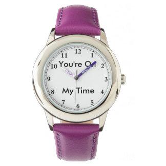 Mi reloj del tiempo