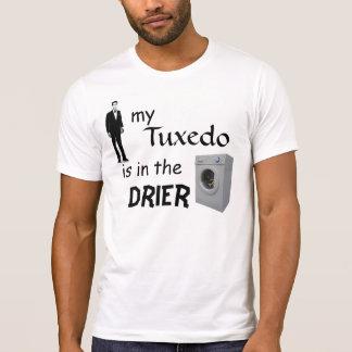 mi smoking está en el secador camiseta