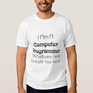 Mi software controla su mundo camisas