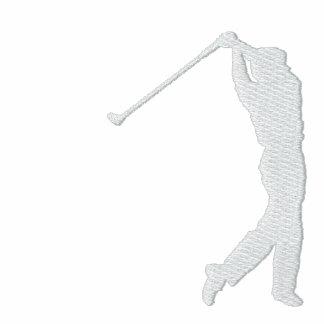 Mi sudadera con capucha bordada golf del jersey de