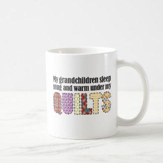 Mi sueño de los nietos cómodamente debajo de mis taza de café