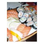 Mi sueño del sushi postal