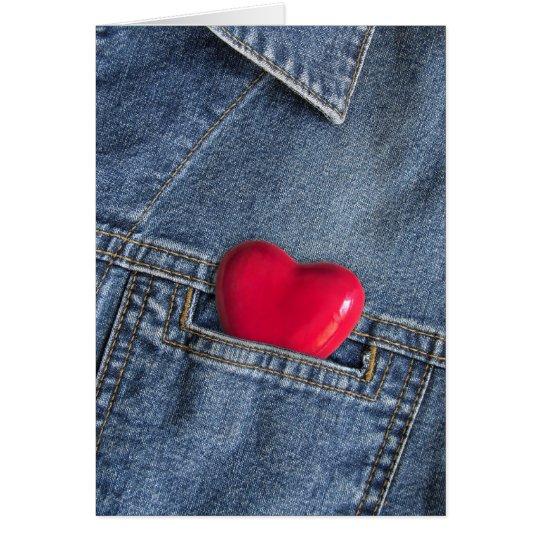 Mi tarjeta afortunada del amor del encanto