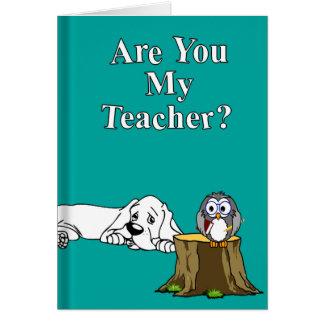 Mi tarjeta de profesor