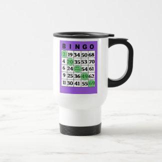 Mi taza de café afortunada del BINGO
